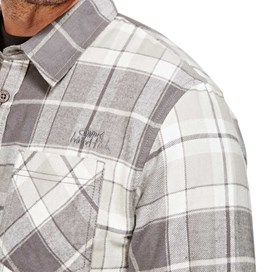 Latchbrook Check Long Sleeve Shirt Grey