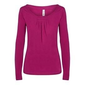 Compton Long Sleeve T-Shirt Raspberry