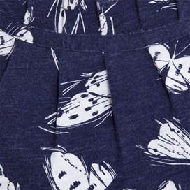 Hewlett Long Sleeve Printed T-Shirt Ink