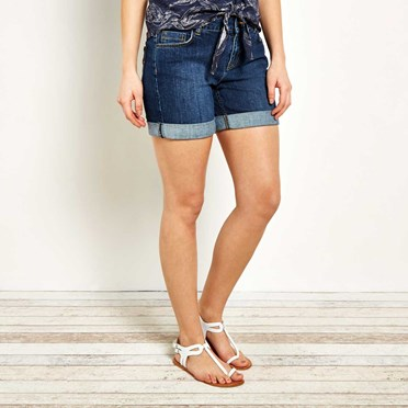 Kitt Stretch Denim Short Denim