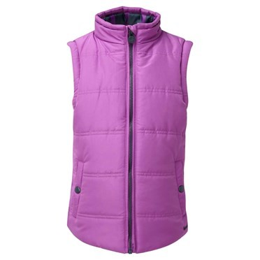 Sira Stripe Lined Gilet Sloeberry