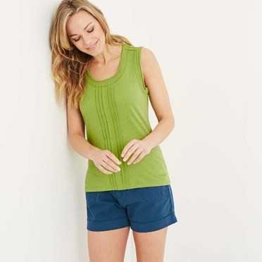 Congo Vest Top Lime