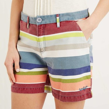 Zula Printed Stripe Short Citadel