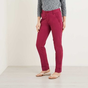 Nantucket Chino Trouser Boysenberry