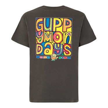 Guppy Mondays Artist T-Shirt Washed Black