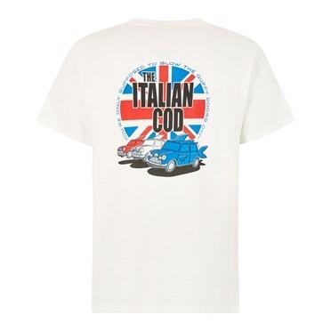 Italian Cod Artist T-Shirt Dusty White