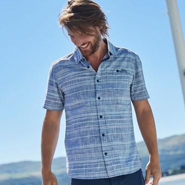 Roth Denim Textured Shirt Denim