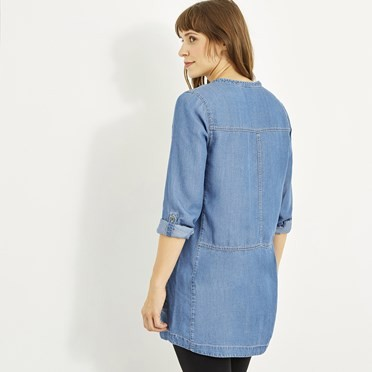 Bryne Tencel Tunic Denim