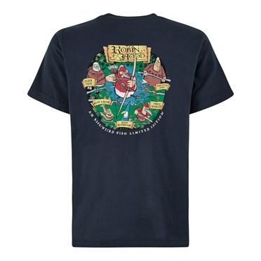 Robin Hood Artist T-Shirt Black Iris