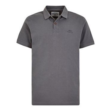 Turiff Organic Cotton Polo Grey