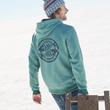 Stein Wf Surf Brand Popover Hoody Duck Green