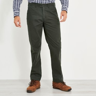 Perth Super Soft Chino Charcoal