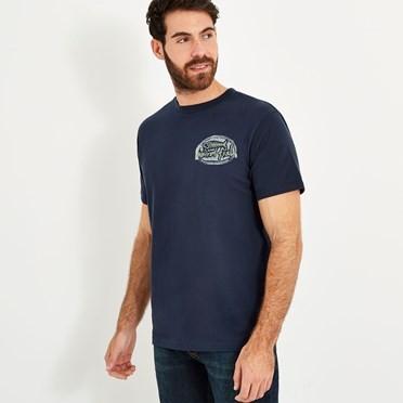 Big Bang Branded T-Shirt Black Iris