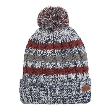 Vito Twisted Yarn Bobble Hat Maritime Blue
