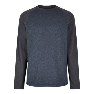Askill Long Sleeve T-Shirt Black Iris Marl