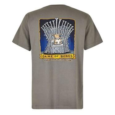 Game Of Bones Artist T-Shirt Steel Grey