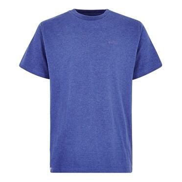 Fished Branded T-Shirt Deep Ocean Marl