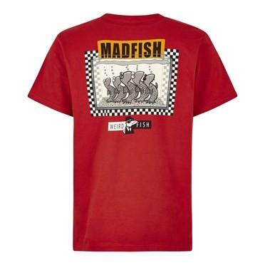 Madfish Artist T-Shirt Dark Red