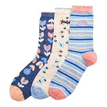 Parade Patterned Socks Multipack Dark Navy