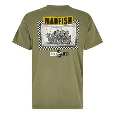 Madfish Artist T-Shirt Khaki Green