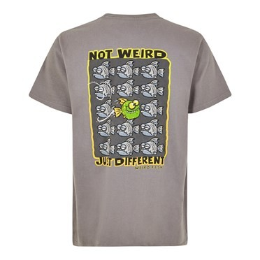 Just Different Artist T-Shirt Steel Grey