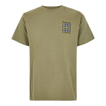 Just Different Artist T-Shirt Khaki Green