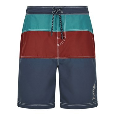 Mahon Branded Board Shorts Dark Navy