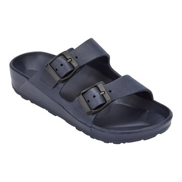 Leya Pool Slider Dark Navy