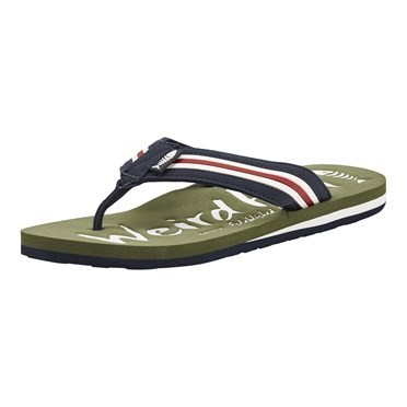 Waterford Branded Flip Flop Burnt Olive