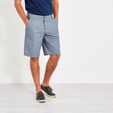 Binard Relaxed Casual Shorts Denim