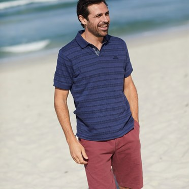 Ballina Relaxed Casual Shorts Crushed Berry