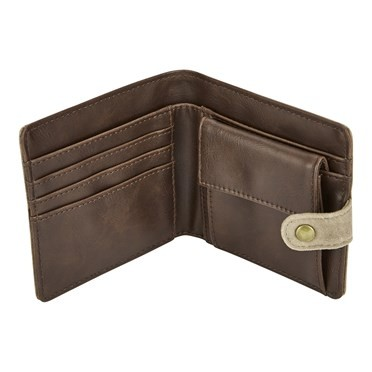 Kasper Waxed Wallet Bark