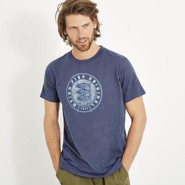 Origin Graphic T-Shirt Blue Indigo