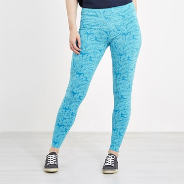 Tamra Bamboo Yoga Leggings Lagoon Blue