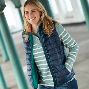Sammy Wadded Gilet  Dark Navy