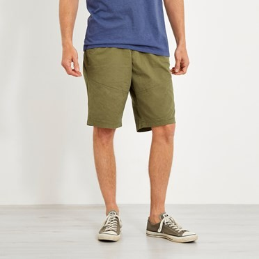 Murrisk Relaxed Casual Shorts Burnt Olive