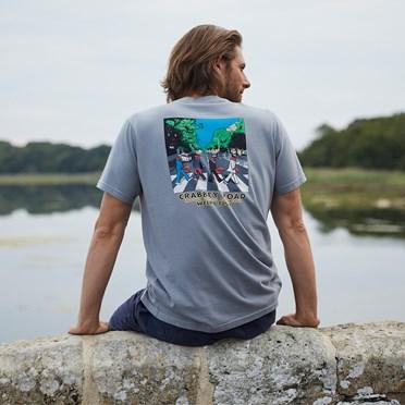 Crabbey Road Artist T-Shirt Gunmetal
