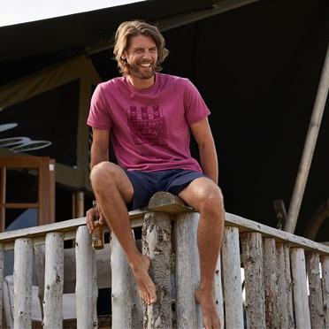 Happy Days Branded T-Shirt Malaga Marl