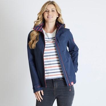 Lulu Waterproof Jacket Dark Navy