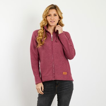 Holly Full Zip Classic Macaroni Jacket Malaga