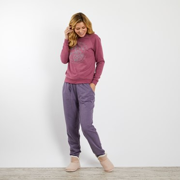 Lisa Loopback Sweat Pant Dewberry