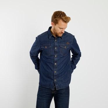 Milos Vintage Western Denim Shirt Denim
