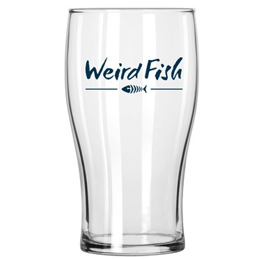 Veagh Weird Fish Pint Glass Navy