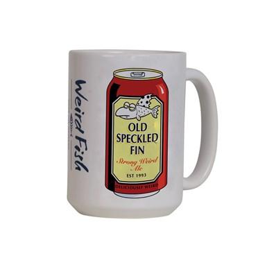 Old Speckled Fin Artist Mega Mug White