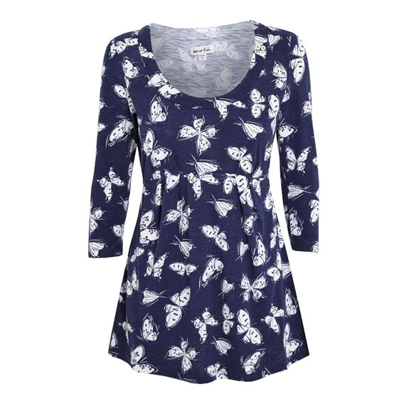 Cowley Printed Tunic Top Ink