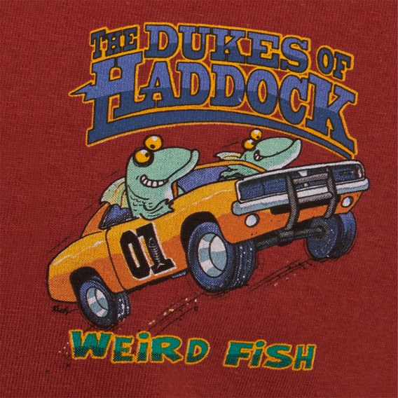 Dukes Of Haddock Artist T-Shirt Paprika