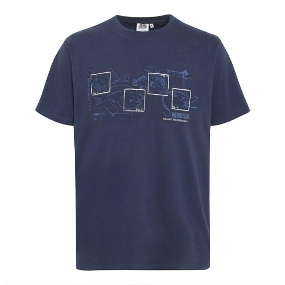 Fishbait Graphic Print T-Shirt Midnight