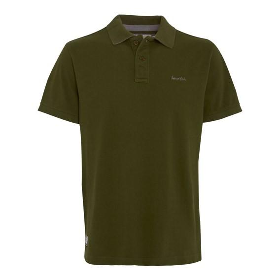 Barros Pique Polo Shirt Army Green