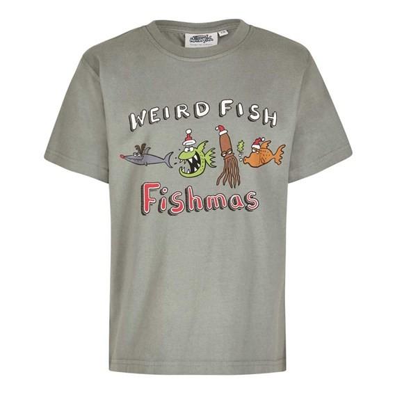 Fishmas Boy's Artist T-Shirt Artichoke