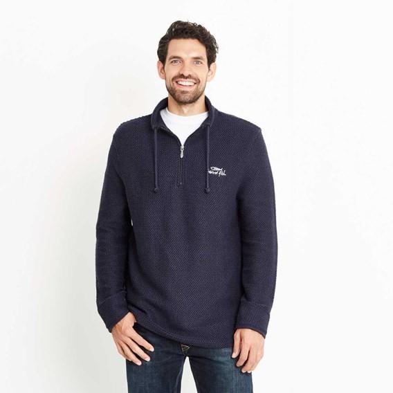 Cruiser Classic ¼ Zip Macaroni Sweatshirt Carbon